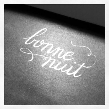 Bonne Nuit by Emily Duong