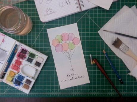 Feliz Cumpleanos Card by Emily Duong